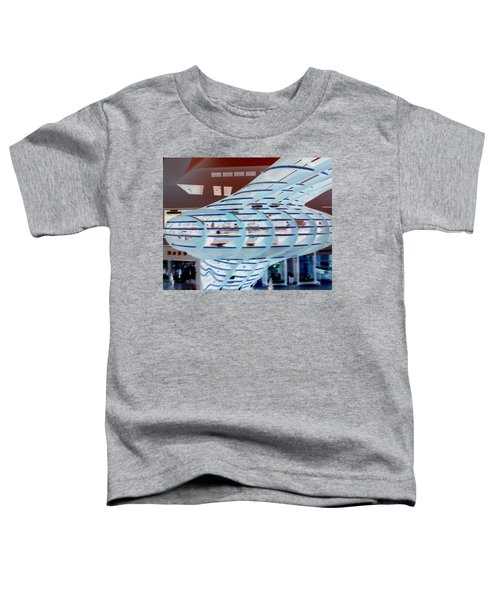 Ghostly Shopping Mall Toddler T-Shirt