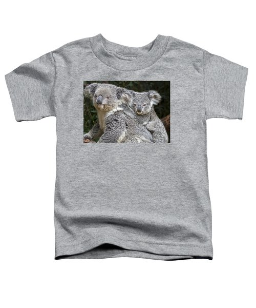 Mommy Hugs Toddler T-Shirt by Jamie Pham