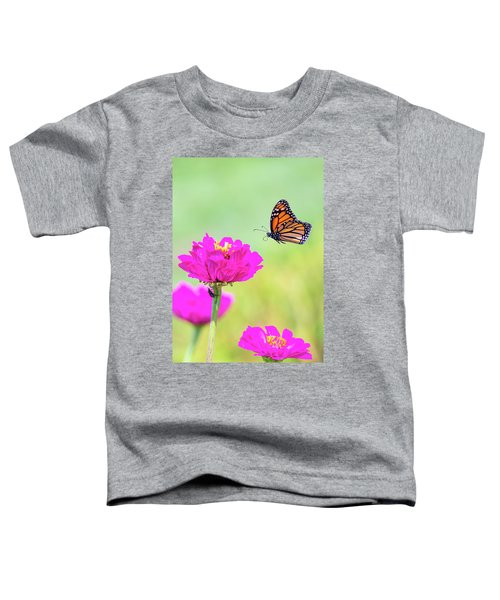 Monarch In Flight 1 Toddler T-Shirt
