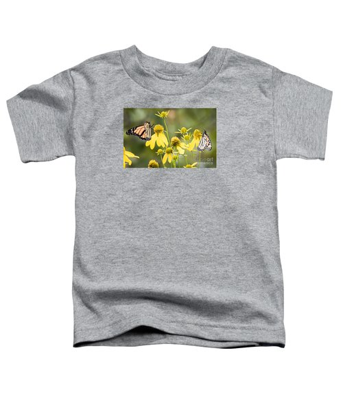 Monarchs Of Wisconsin Toddler T-Shirt by Ricky L Jones