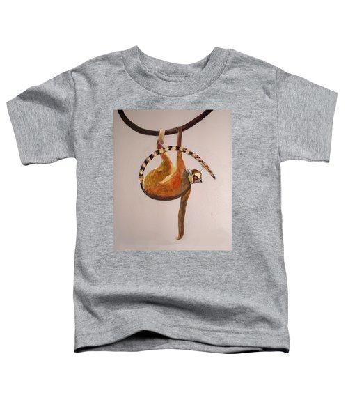 Monkey Detail 1 From Mural Toddler T-Shirt