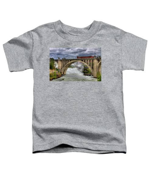 Monroe Street Bridge Spokane Toddler T-Shirt