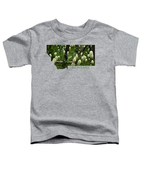 Montana Bear Grass Toddler T-Shirt