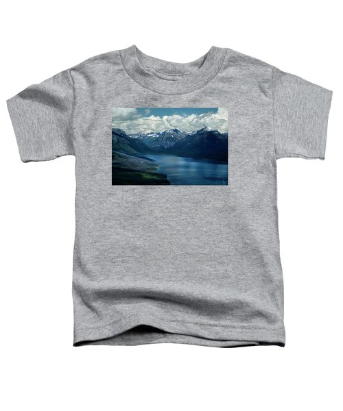 Montana Mountain Vista And Lake Toddler T-Shirt