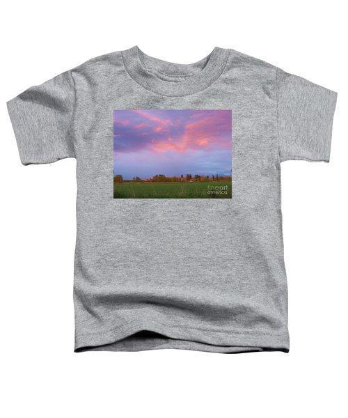 Montana Sunset 2 Toddler T-Shirt