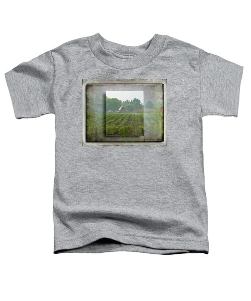 Montinore Winery Toddler T-Shirt