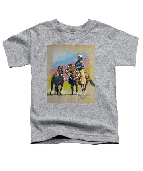 Monty Roberts Toddler T-Shirt