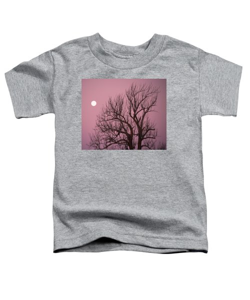 Moon And Tree Toddler T-Shirt
