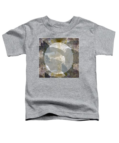 Moon Art On Stone Digital Graphics By Navin Joshi By Print Posters Greeting Cards Pillows Duvet Cove Toddler T-Shirt by Navin Joshi