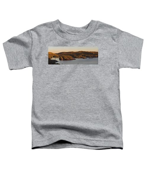 Moon Rise Over Pukaskwa Toddler T-Shirt