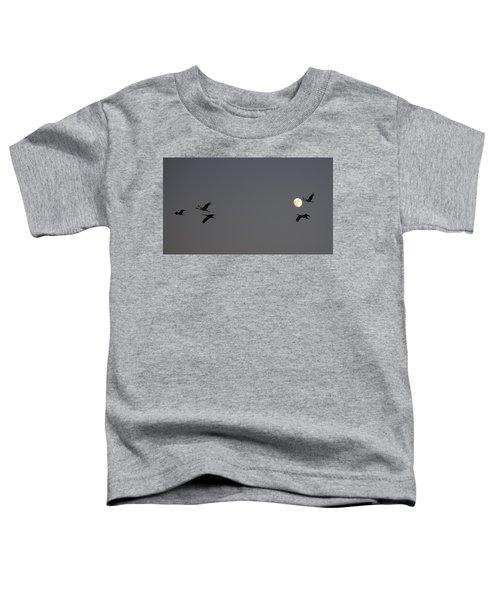 Moonlight Flight Toddler T-Shirt