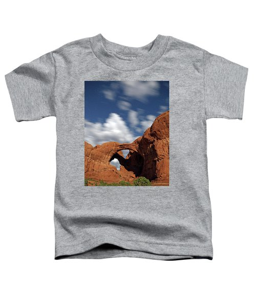 Moonlight On Double Arch In Arches Np Toddler T-Shirt