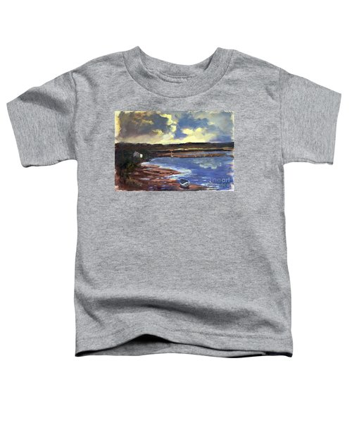 Moonlit Beach Toddler T-Shirt
