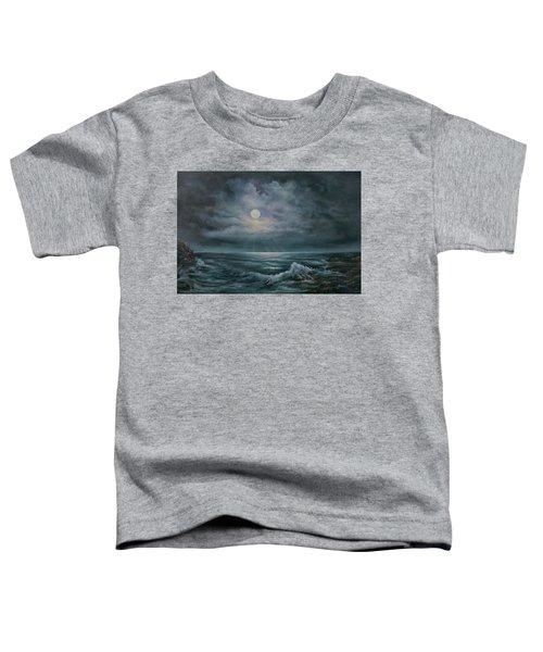 Moonlit Seascape Toddler T-Shirt