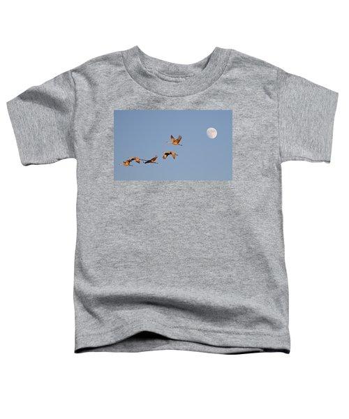 Moonrise Over Bosque Toddler T-Shirt