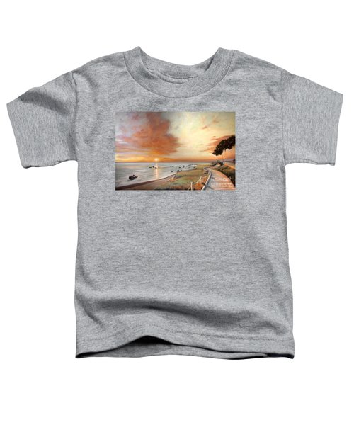 Moonstone Cambria Sunset Toddler T-Shirt