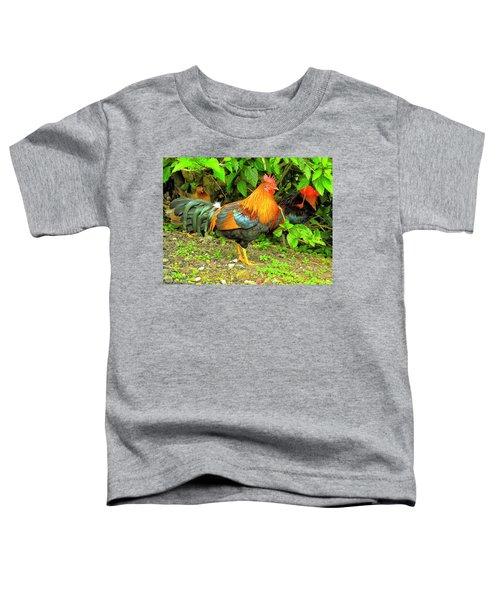 Moorea Chicken Toddler T-Shirt