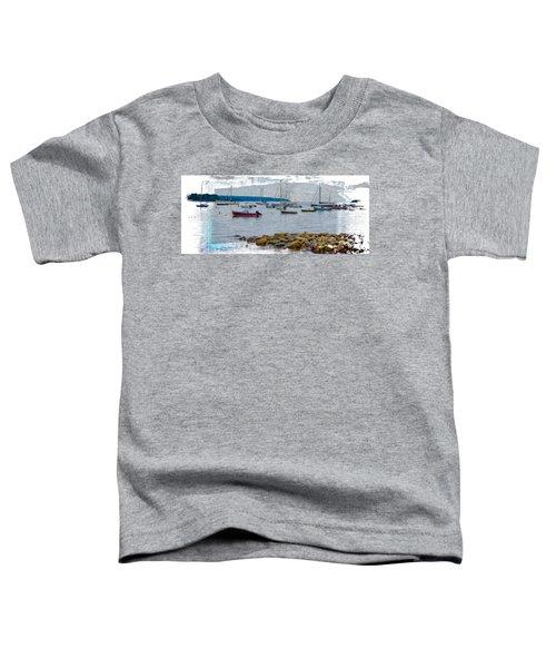 Moorings Mug Shot Toddler T-Shirt by John M Bailey