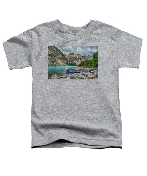 Moraine Lake Toddler T-Shirt