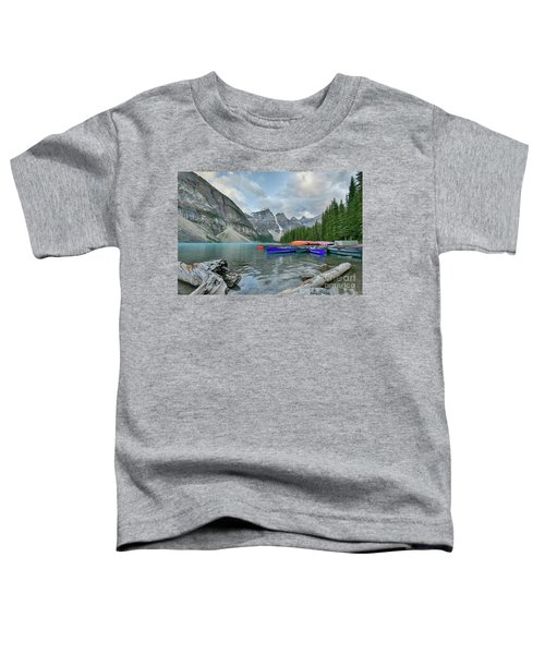 Moraine Logs And Canoes Toddler T-Shirt