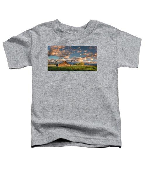 Mormon Row At Sunrise Toddler T-Shirt