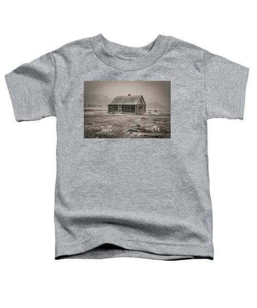 Mormon Row Grand Teton National Park  Toddler T-Shirt