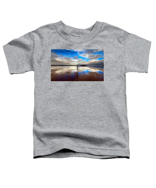 Morning Arrival At Lake Ballard Toddler T-Shirt