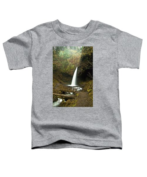 Morning At The Waterfall Toddler T-Shirt