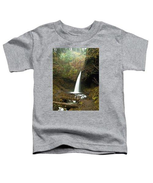 Morning At The Waterfall Toddler T-Shirt