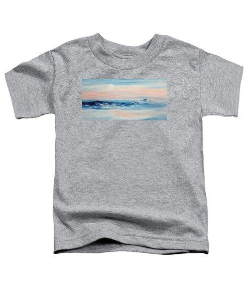 Morning Full Moon Toddler T-Shirt