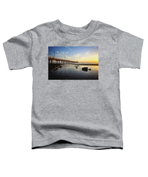 Morning Light Down By The Pier Toddler T-Shirt