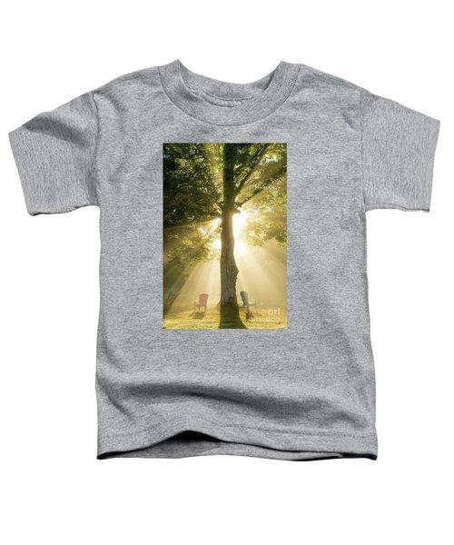 Morning Light Shining Down Toddler T-Shirt