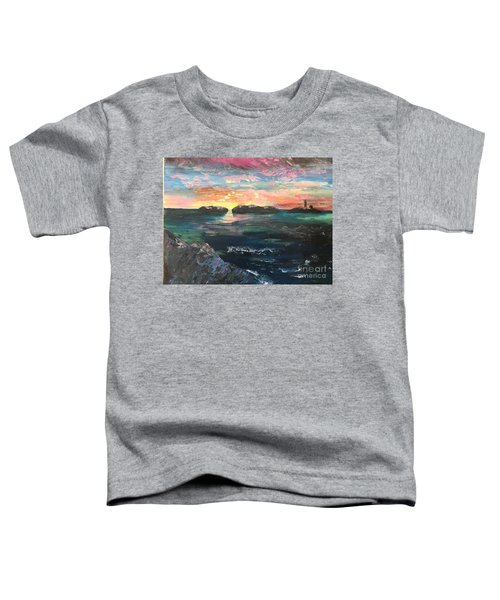 Morning Maine Toddler T-Shirt