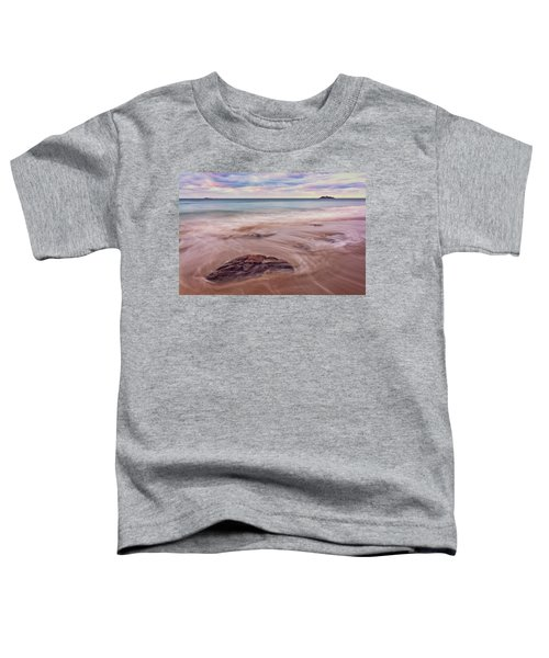 Morning Pastels Singing Beach Ma Toddler T-Shirt