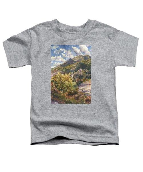 Morning Walk At Mount Sanitas Toddler T-Shirt