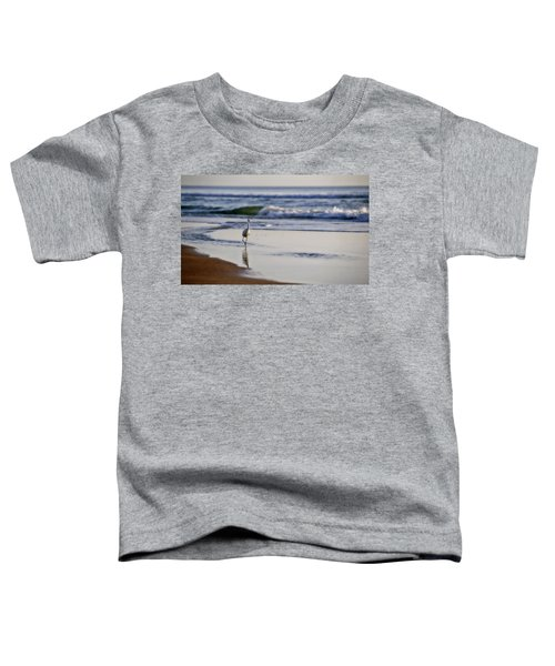 Morning Walk At Ormond Beach Toddler T-Shirt