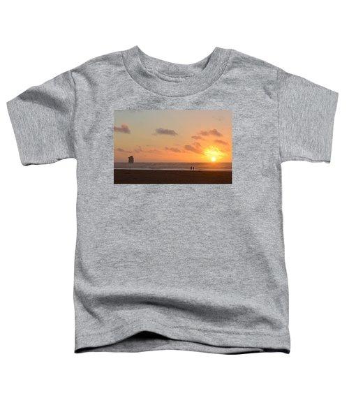 Morro Sunset Toddler T-Shirt