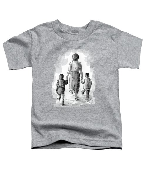 Mother And Kids Toddler T-Shirt
