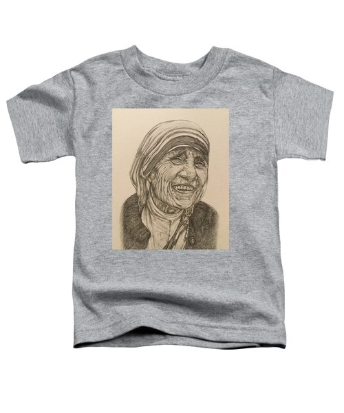 Mother Theresa Kindness Toddler T-Shirt by Kent Chua