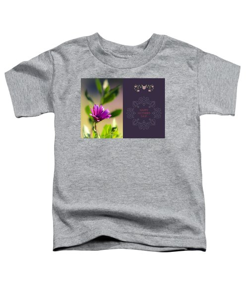 Toddler T-Shirt featuring the photograph Mother's Day Flower by Alison Frank