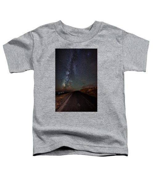 Mount Evans Road To The Milky Way Toddler T-Shirt