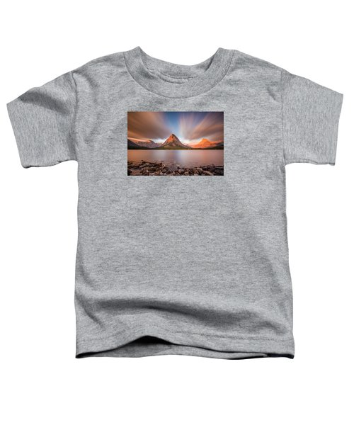 Mount Grinnell Sunrise Toddler T-Shirt