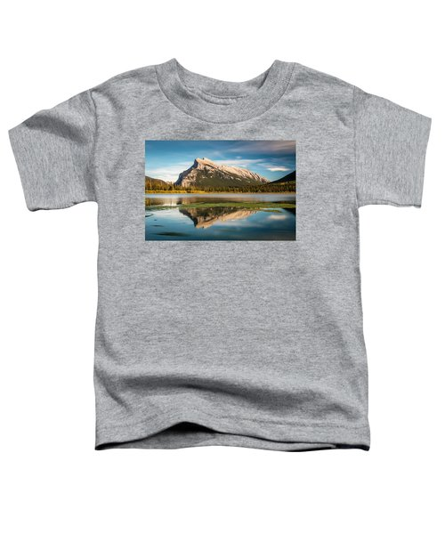 Mount Rundle Banff Toddler T-Shirt
