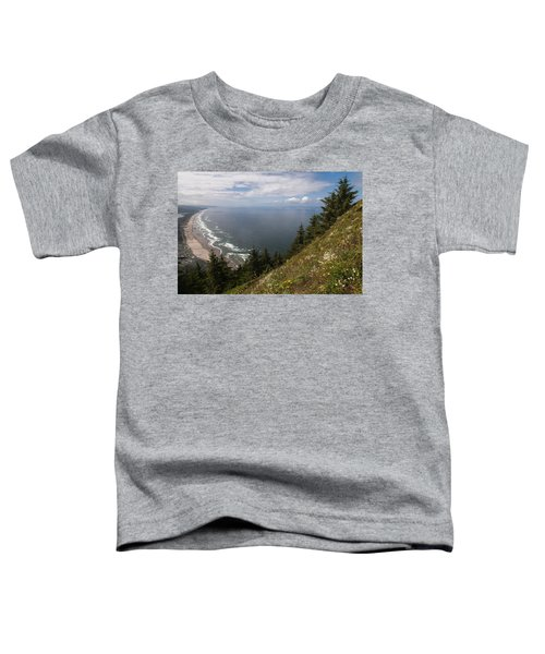 Mountain And Beach Toddler T-Shirt