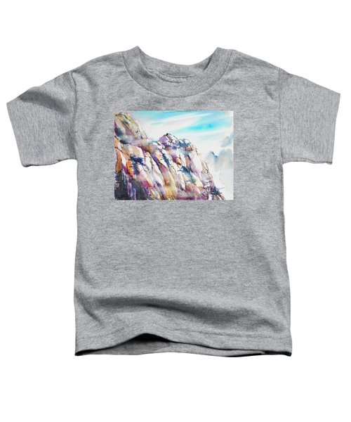 Mountain Awe #1 Toddler T-Shirt