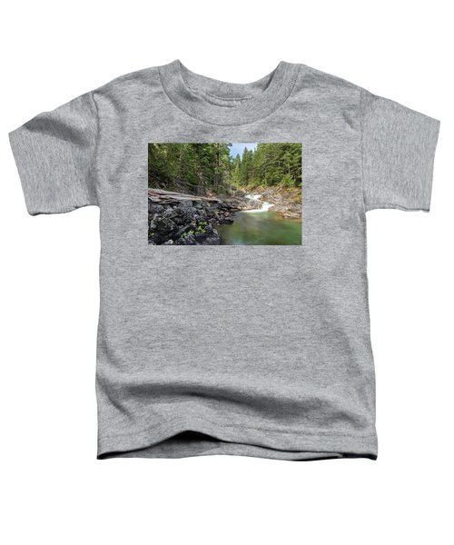 Mountain Cascade Toddler T-Shirt