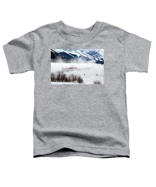 Mountain Landing Toddler T-Shirt