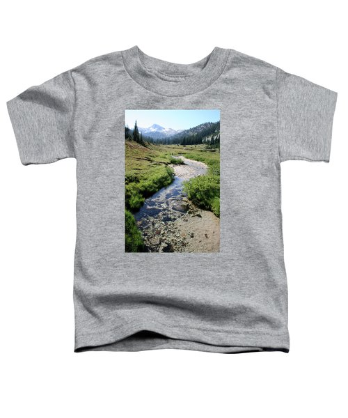 Mountain Meadow And Stream Toddler T-Shirt
