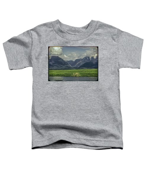 Mountain View Montana.... Toddler T-Shirt