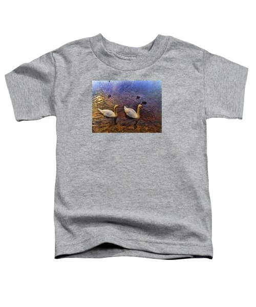 Mr And Mrs Swan Go Viisiting Toddler T-Shirt